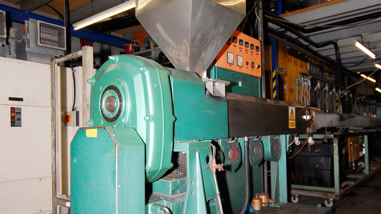 Tube manufacturing step 1