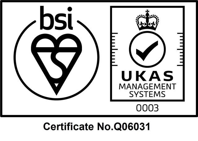 British Standards Institution Accredited